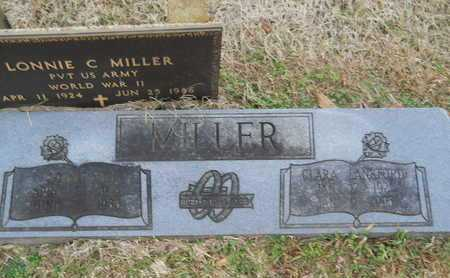 MILLER, CLARA - Union County, Louisiana | CLARA MILLER - Louisiana Gravestone Photos