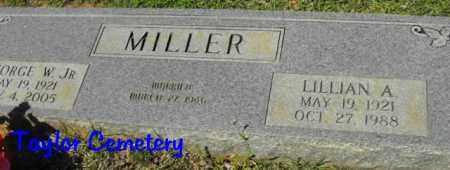 MILLER, LILLIAN A - Union County, Louisiana | LILLIAN A MILLER - Louisiana Gravestone Photos