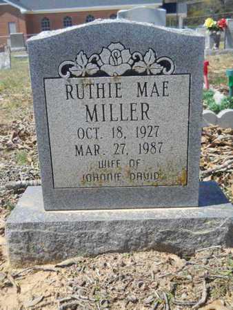 MILLER, RUTHIE MAE - Union County, Louisiana | RUTHIE MAE MILLER - Louisiana Gravestone Photos