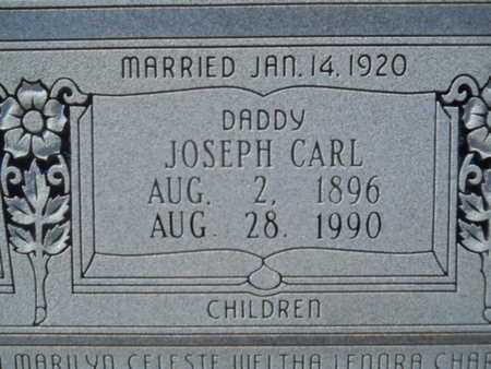 NASH, JOSEPH CARL (CLOSE UP) - Union County, Louisiana   JOSEPH CARL (CLOSE UP) NASH - Louisiana Gravestone Photos