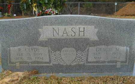 NASH, R CLYDE - Union County, Louisiana | R CLYDE NASH - Louisiana Gravestone Photos