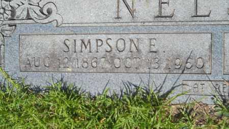 NELSON, SIMPSON E (CLOSE UP) - Union County, Louisiana | SIMPSON E (CLOSE UP) NELSON - Louisiana Gravestone Photos