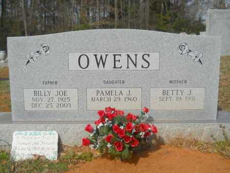 OWENS, BILLY JOE - Union County, Louisiana | BILLY JOE OWENS - Louisiana Gravestone Photos