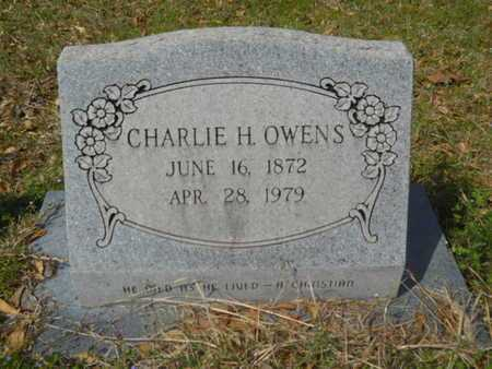 OWENS, CHARLIE H - Union County, Louisiana | CHARLIE H OWENS - Louisiana Gravestone Photos