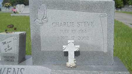 OWENS, CHARLIE STEVE (CLOSE UP) - Union County, Louisiana   CHARLIE STEVE (CLOSE UP) OWENS - Louisiana Gravestone Photos