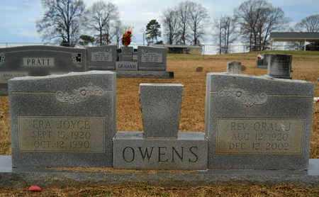 OWENS, ORAL J, REV - Union County, Louisiana | ORAL J, REV OWENS - Louisiana Gravestone Photos