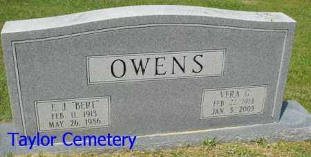 OWENS, E  J  'BERT' - Union County, Louisiana | E  J  'BERT' OWENS - Louisiana Gravestone Photos