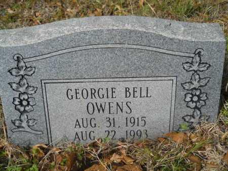 OWENS, GEORGIE BELL - Union County, Louisiana | GEORGIE BELL OWENS - Louisiana Gravestone Photos