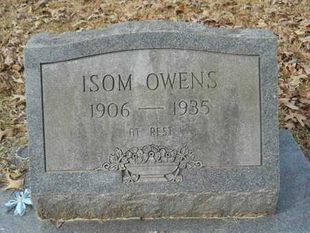 OWENS, ISOM - Union County, Louisiana | ISOM OWENS - Louisiana Gravestone Photos