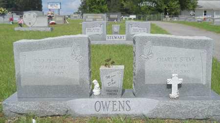 OWENS, CHARLIE STEVE - Union County, Louisiana | CHARLIE STEVE OWENS - Louisiana Gravestone Photos