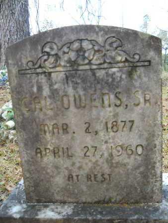 OWENS, CAL, SR - Union County, Louisiana | CAL, SR OWENS - Louisiana Gravestone Photos