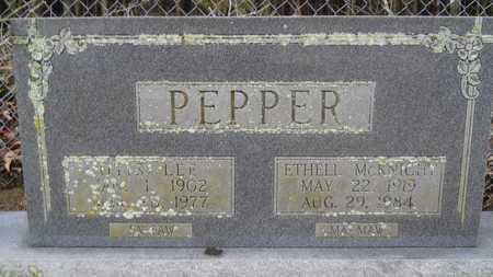 PEPPER, OTIS LEE - Union County, Louisiana | OTIS LEE PEPPER - Louisiana Gravestone Photos