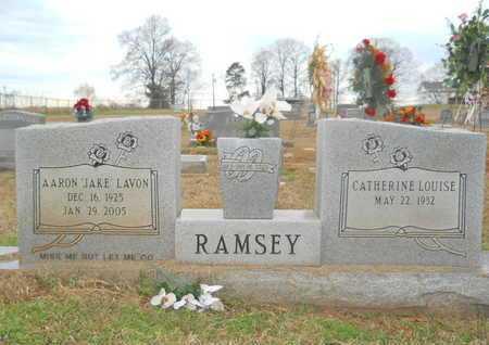 """RAMSEY, AARON LAVON """"JAKE"""" - Union County, Louisiana   AARON LAVON """"JAKE"""" RAMSEY - Louisiana Gravestone Photos"""