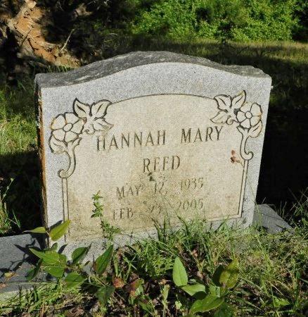 REED, HANNAH MARY - Union County, Louisiana   HANNAH MARY REED - Louisiana Gravestone Photos