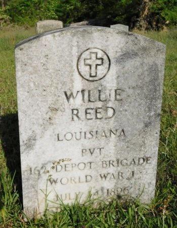 REED, WILLIE  (VETERAN WWI) - Union County, Louisiana   WILLIE  (VETERAN WWI) REED - Louisiana Gravestone Photos