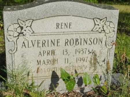 "ROBINSON, ALVERINE ""RENE"" - Union County, Louisiana   ALVERINE ""RENE"" ROBINSON - Louisiana Gravestone Photos"