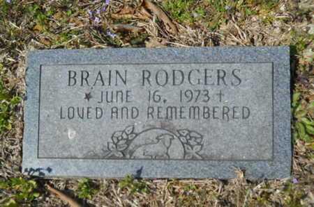 RODGERS, BRAIN - Union County, Louisiana | BRAIN RODGERS - Louisiana Gravestone Photos