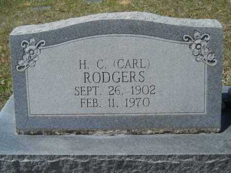 """RODGERS, H C """"CARL"""" (CLOSE UP) - Union County, Louisiana 