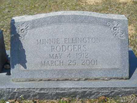 RODGERS, MINNIE (CLOSE UP) - Union County, Louisiana | MINNIE (CLOSE UP) RODGERS - Louisiana Gravestone Photos