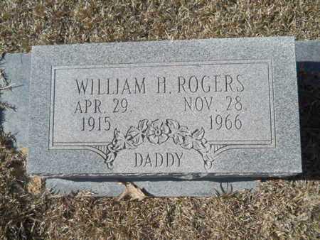 ROGERS, WILLIAM H - Union County, Louisiana   WILLIAM H ROGERS - Louisiana Gravestone Photos