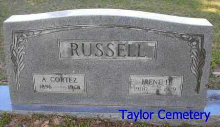 RUSSELL, A  CORTEZ - Union County, Louisiana | A  CORTEZ RUSSELL - Louisiana Gravestone Photos