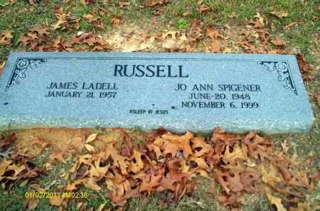 SPIGENER RUSSELL, JO ANN - Union County, Louisiana | JO ANN SPIGENER RUSSELL - Louisiana Gravestone Photos