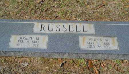 RUSSELL, JOSEPH M - Union County, Louisiana | JOSEPH M RUSSELL - Louisiana Gravestone Photos