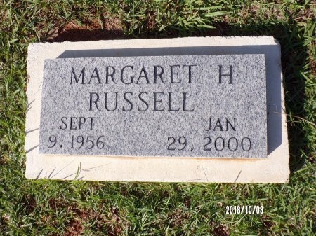 RUSSELL, MARGARET H - Union County, Louisiana | MARGARET H RUSSELL - Louisiana Gravestone Photos