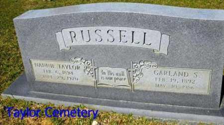 RUSSELL, GARLAND S - Union County, Louisiana   GARLAND S RUSSELL - Louisiana Gravestone Photos