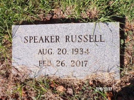 RUSSELL, SPEAKER - Union County, Louisiana | SPEAKER RUSSELL - Louisiana Gravestone Photos
