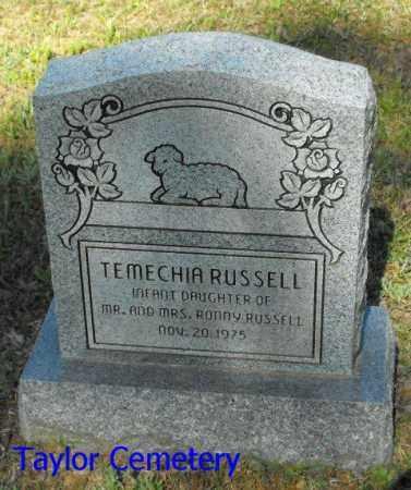 RUSSELL, TEMECHIA - Union County, Louisiana | TEMECHIA RUSSELL - Louisiana Gravestone Photos