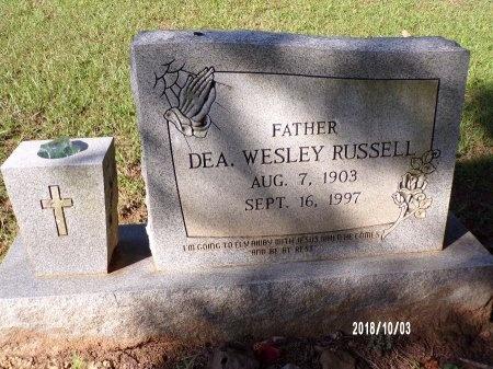 RUSSELL, WESLEY - Union County, Louisiana | WESLEY RUSSELL - Louisiana Gravestone Photos