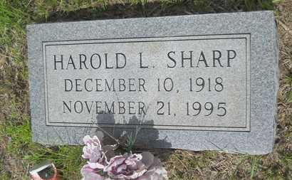 SHARP, HAROLD L - Union County, Louisiana | HAROLD L SHARP - Louisiana Gravestone Photos