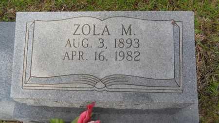 SHARP, ZOLA M (CLOSE UP) - Union County, Louisiana | ZOLA M (CLOSE UP) SHARP - Louisiana Gravestone Photos