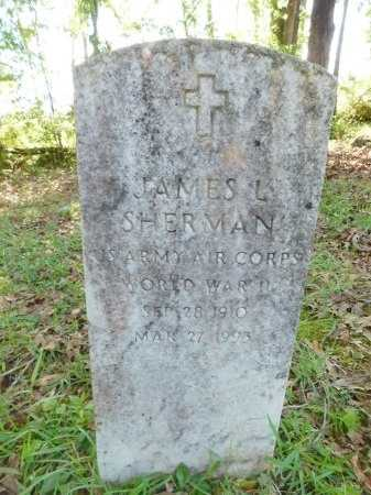 SHERMAN, JAMES L (VETERAN WWII) - Union County, Louisiana | JAMES L (VETERAN WWII) SHERMAN - Louisiana Gravestone Photos