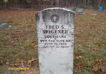 SPIGENER, FRED S (VETERAN) - Union County, Louisiana   FRED S (VETERAN) SPIGENER - Louisiana Gravestone Photos
