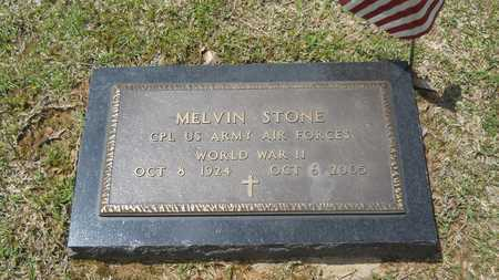 STONE, MELVIN (VETERAN WWII) - Union County, Louisiana   MELVIN (VETERAN WWII) STONE - Louisiana Gravestone Photos