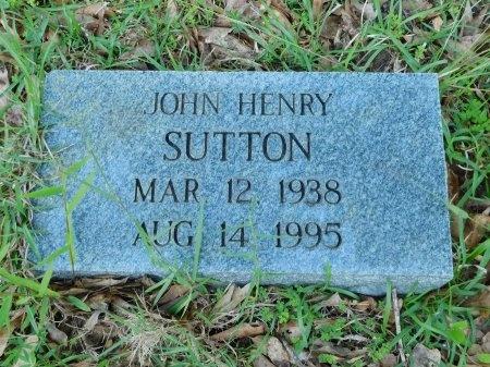 SUTTON, JOHN HENRY - Union County, Louisiana | JOHN HENRY SUTTON - Louisiana Gravestone Photos