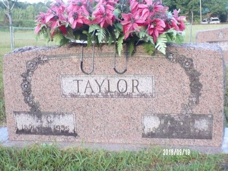 TAYLOR, DAFFIE - Union County, Louisiana | DAFFIE TAYLOR - Louisiana Gravestone Photos