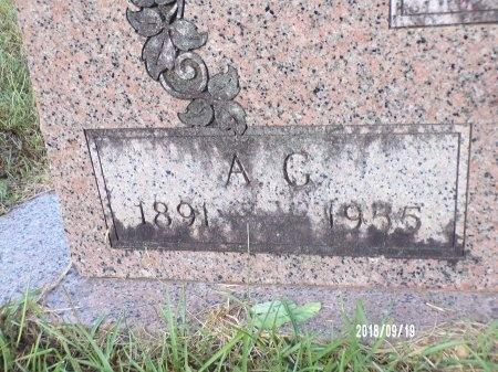 TAYLOR, A G (CLOSE UP) - Union County, Louisiana | A G (CLOSE UP) TAYLOR - Louisiana Gravestone Photos
