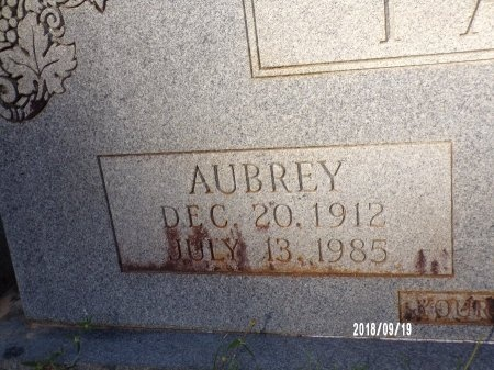 TAYLOR, AUBREY (CLOSE UP) - Union County, Louisiana   AUBREY (CLOSE UP) TAYLOR - Louisiana Gravestone Photos