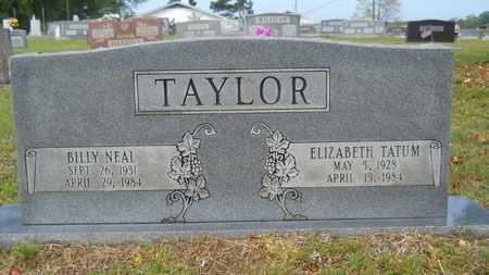 TAYLOR, BILLY NEAL - Union County, Louisiana | BILLY NEAL TAYLOR - Louisiana Gravestone Photos
