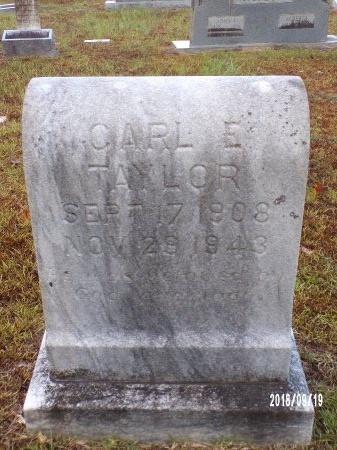 TAYLOR, CARL E - Union County, Louisiana | CARL E TAYLOR - Louisiana Gravestone Photos
