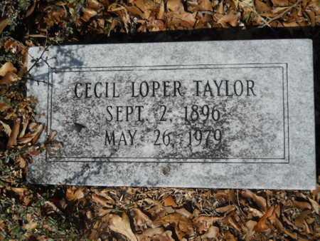 TAYLOR, CECIL LOPER - Union County, Louisiana | CECIL LOPER TAYLOR - Louisiana Gravestone Photos