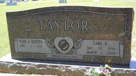 TAYLOR, CARL A - Union County, Louisiana | CARL A TAYLOR - Louisiana Gravestone Photos