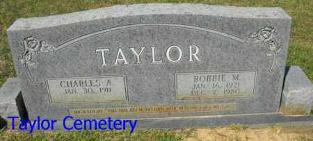 TAYLOR, BOBBIE M. - Union County, Louisiana | BOBBIE M. TAYLOR - Louisiana Gravestone Photos