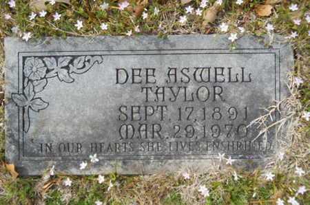 TAYLOR, DEE - Union County, Louisiana | DEE TAYLOR - Louisiana Gravestone Photos