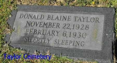 TAYLOR, DONALD BLAINE - Union County, Louisiana | DONALD BLAINE TAYLOR - Louisiana Gravestone Photos