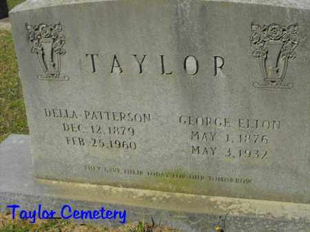 TAYLOR, GEORGE ELTON - Union County, Louisiana | GEORGE ELTON TAYLOR - Louisiana Gravestone Photos