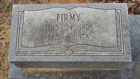 TAYLOR, FIRMY (CLOSE UP) - Union County, Louisiana | FIRMY (CLOSE UP) TAYLOR - Louisiana Gravestone Photos